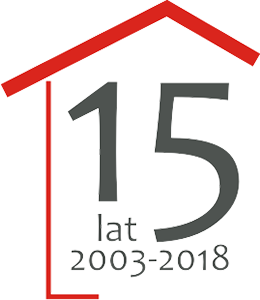 logo 15 lat GZNK