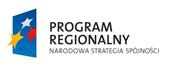 Program Regionalny - Narodowa Strategia Spójności